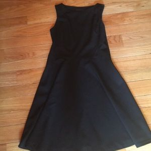 Banana Republic Black sleeveless Dress size 10